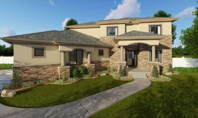 Story Mediterranean House Plan Sedona