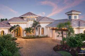Story Mediterranean House Plans Floor Plan