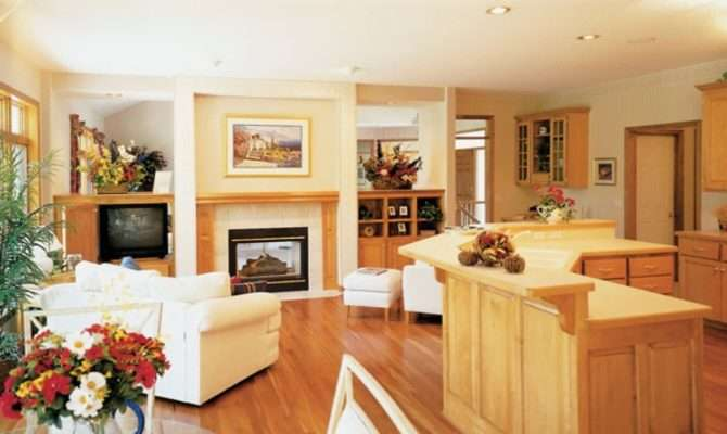 Story Open Concept Floor Plans Small Homes Simple