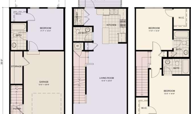 Story Townhouse Floor Plans Galleries Imagekb