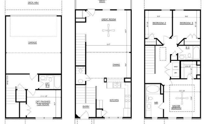 Story Townhouse Floor Plans High Point Regent Homes
