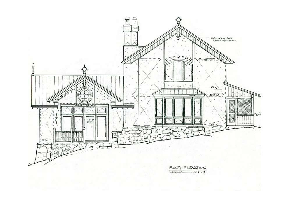 Straw Bale Building Plans House