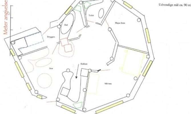 Straw Bale House Floor Plans Unique