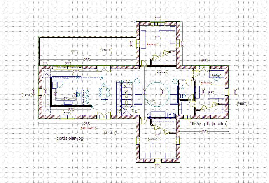 Straw Bale House Plan Butch Cross