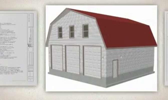 Studio Apartment Gambrel Barn Plans Joy