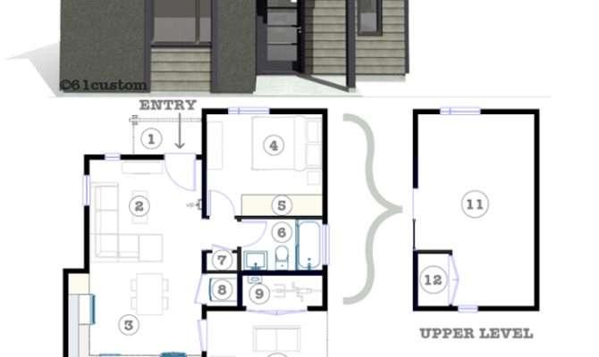 Studio Modern Tiny House Plan Custom