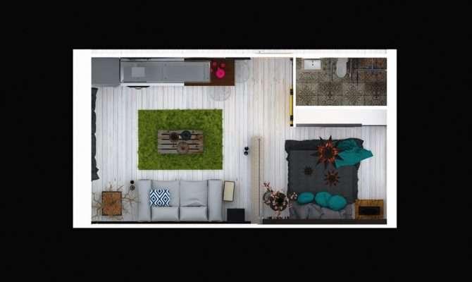 Studios Under Square Meters Playful Patterns