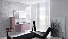 Stunning Bathroom Design Feature Textured Wall