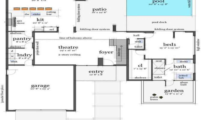 Stunning Beach House Floor Plans Jpeg