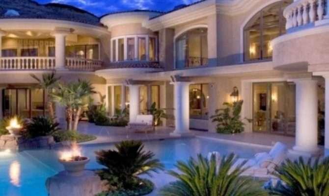 Stunning Dream Homes Mega Mansions Social Media