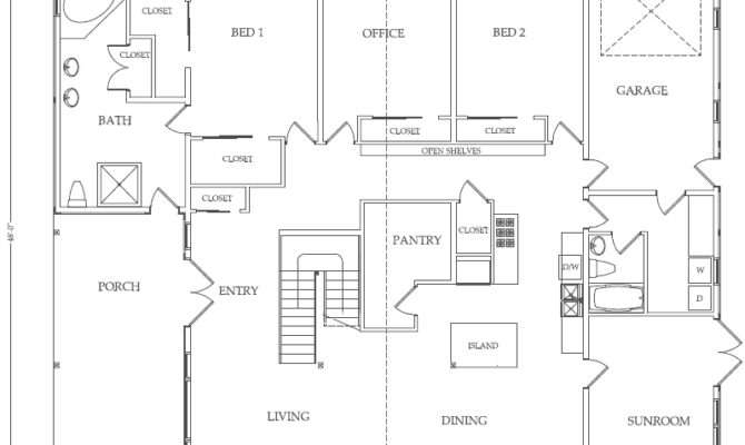 Stunning House Barn Combo Floor Plans Ideas Building
