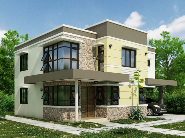 Stunning Interior Exterior Modern Home Design