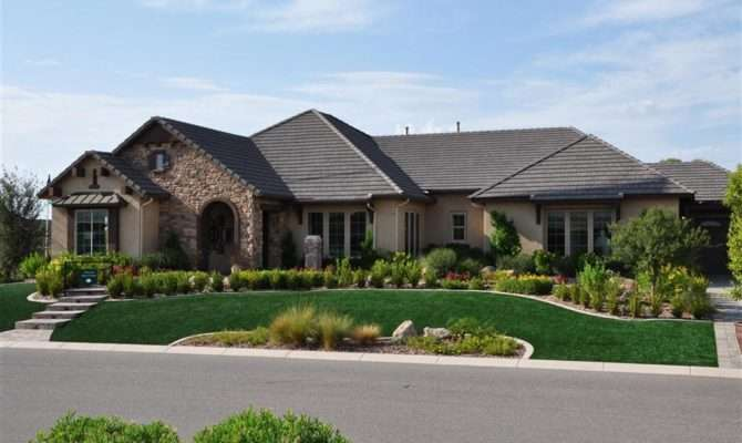 Stunning Luxury One Story Homes Ideas House Plans
