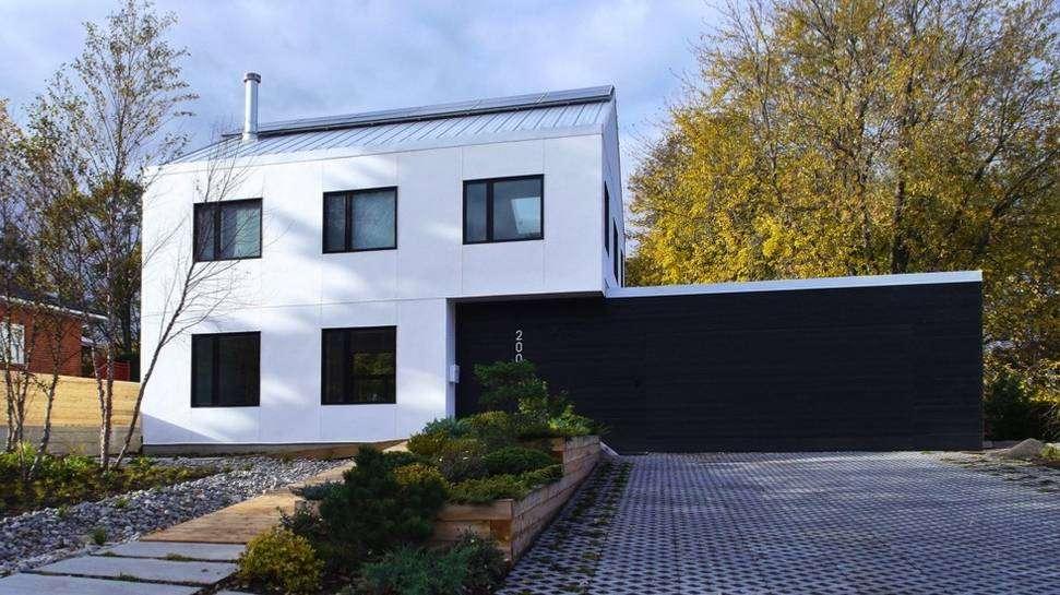Stunning Modern House Made Straw Bale Treehugger