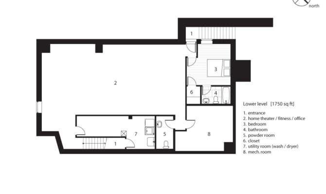 Stunning Small Basement Floor Plans Photos House