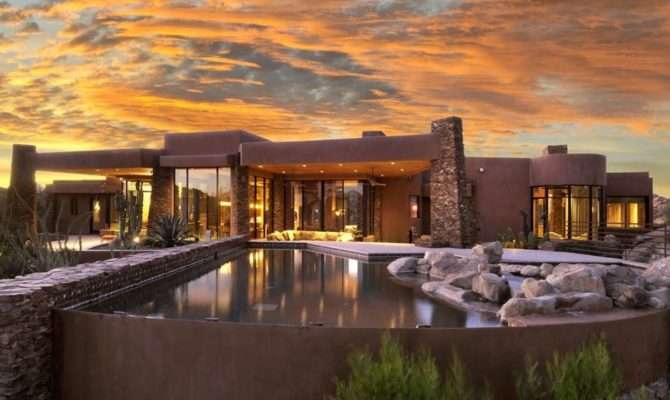 Stunning Southwestern Style Homes Youtube