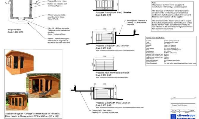 Stunning Summer House Plans Building