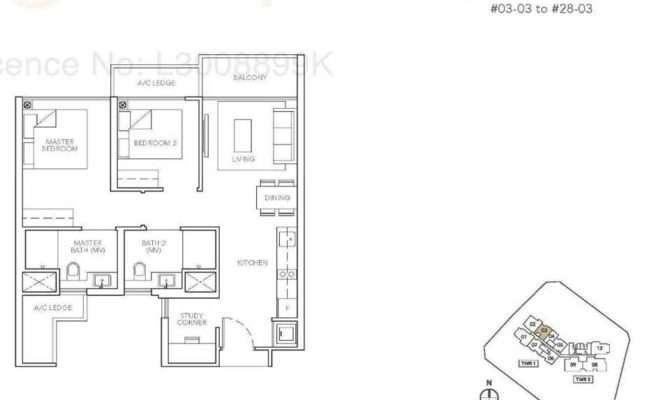 Sturdee Residences Floor Plan Call Showflat