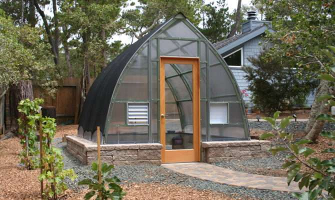 Sturdy Gothic Arch Greenhouse Design Outlasts Toughest Weather