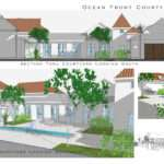 Style Courtyard House Spanish Hacienda Plans
