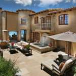 Style Homes Interior Spanish Home Plans Courtyard Along