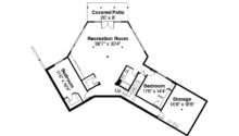Style House Plan Viewcrest Daylight Basement Floor