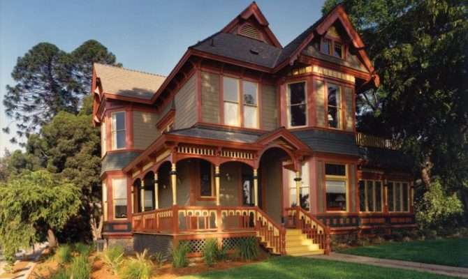 Styles Victorian House Architecture Examples