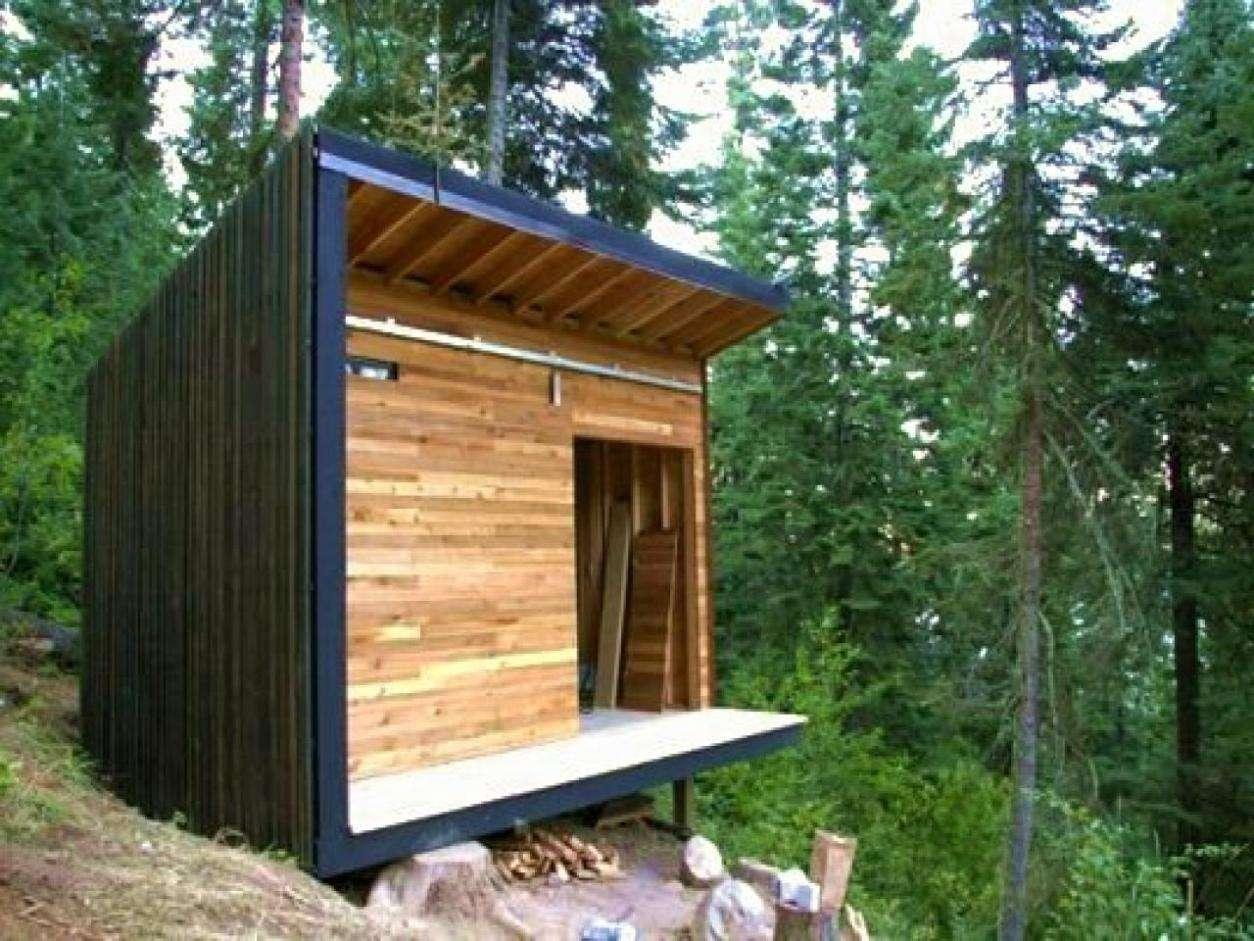 Stylish Small Mountain Cabin Plans Cape Atlantic Decor