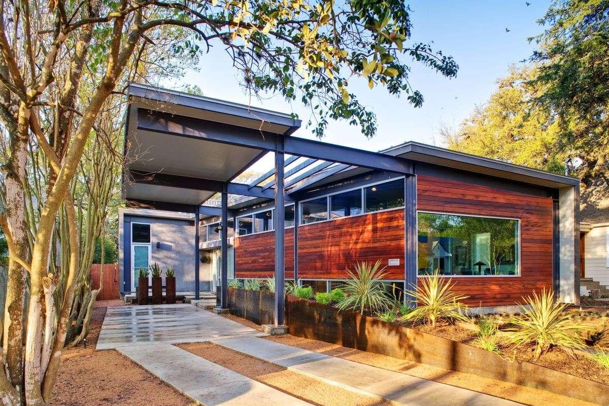 Stylishly Simple Modern One Story House Design