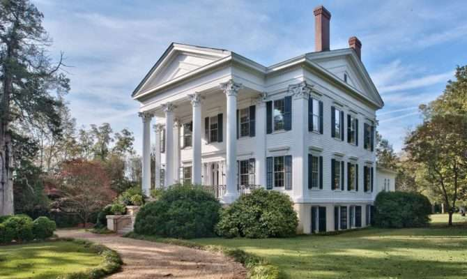 Sublime Greek Revival Houses Sale Right Now Curbed