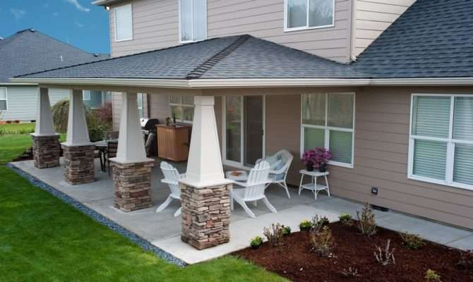 Sublimity Covered Patio Hueller Construction