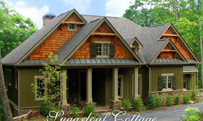 Sugarloaf Cottage Mountain Style House Plan