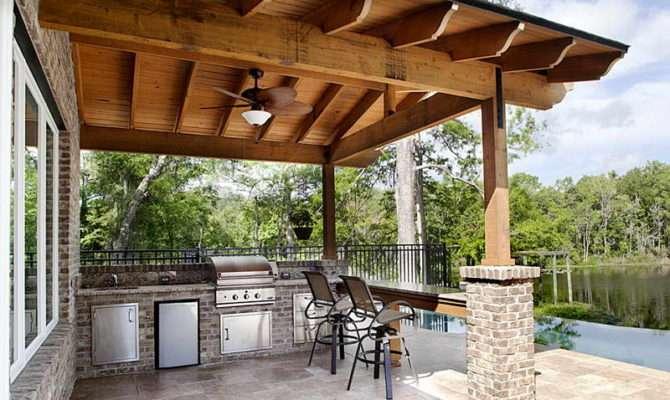 Summer Kitchen Outdoor Cabinets Kitchens Plans