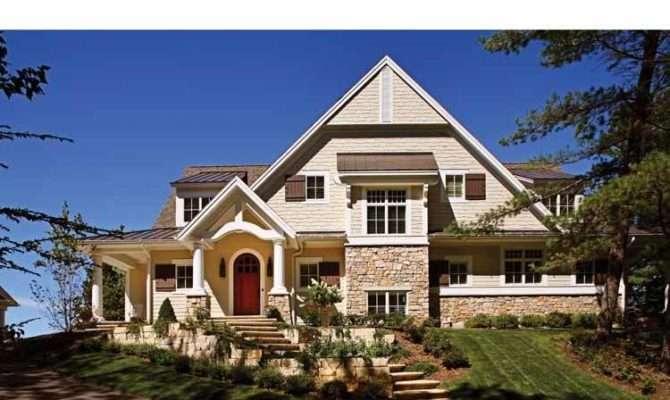 Summery Shingle Style Homes Visbeen Architects