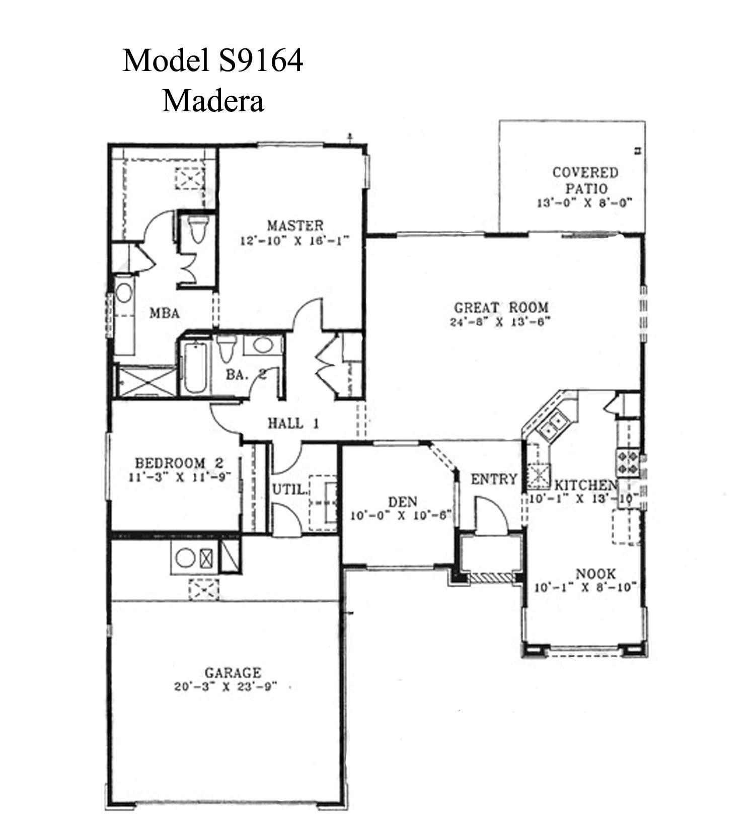 Sun City Grand Madera Floor Plan Del Webb