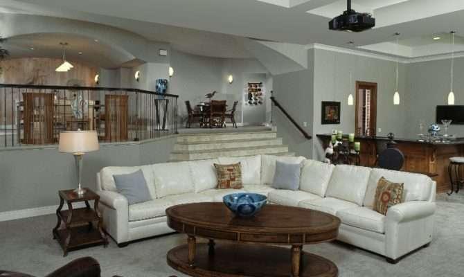 Sunken Living Rooms Back