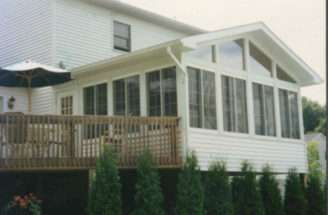 Sunroom Over Deck Houses Plans Designs