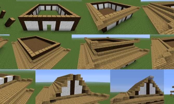 Super Easy Build House Minecraft Interior Design Qarmazi