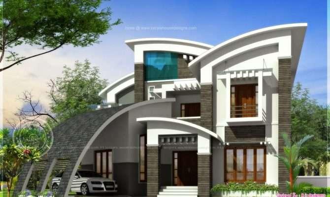 Super Luxury Ultra Modern House Design Kerala Home