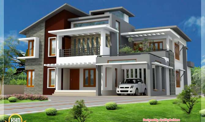 Superb Home Design Contemporary Modern Style Architecture House