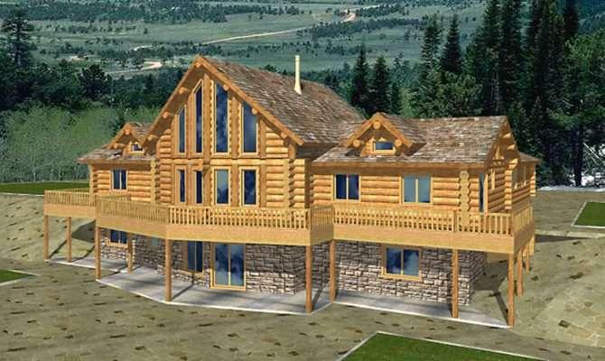 Superb Log House Plans Cabin Home