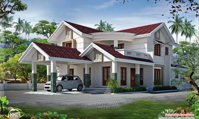 Superb Looking Bedroom Villa Design Kerala Home
