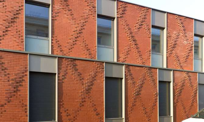 Surprising Tapestry Brick Clads House