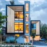 Sustainable Modern Prefab Townhomes