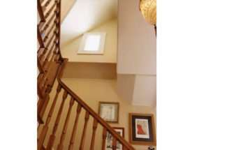 Sweeping Staircase Sogno Design Group