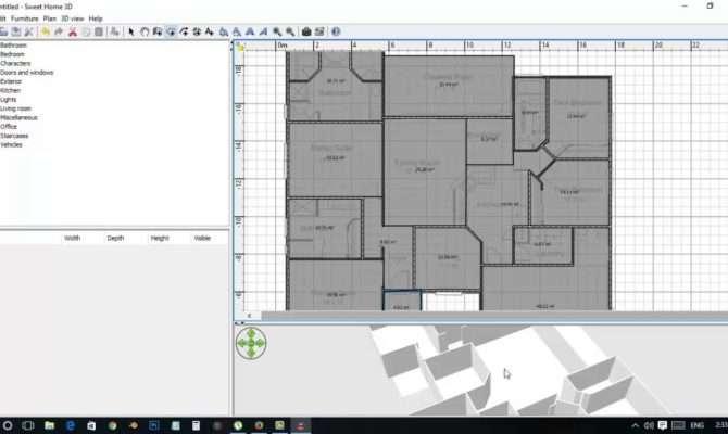 Sweet Home Tutorial Creating Floor Plan Youtube