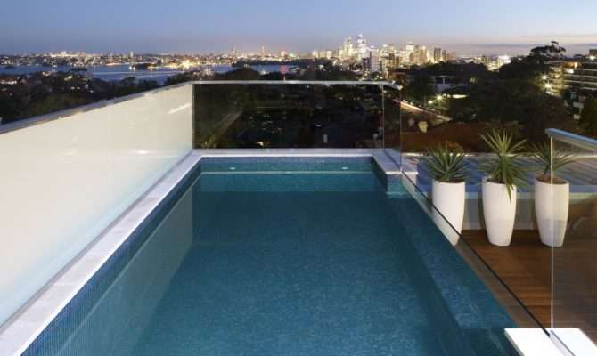 Swimming Pool Luxury Rooftop Design Your Home
