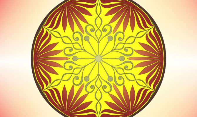 Symmetrical Circle Designs Android Iphone Ipad