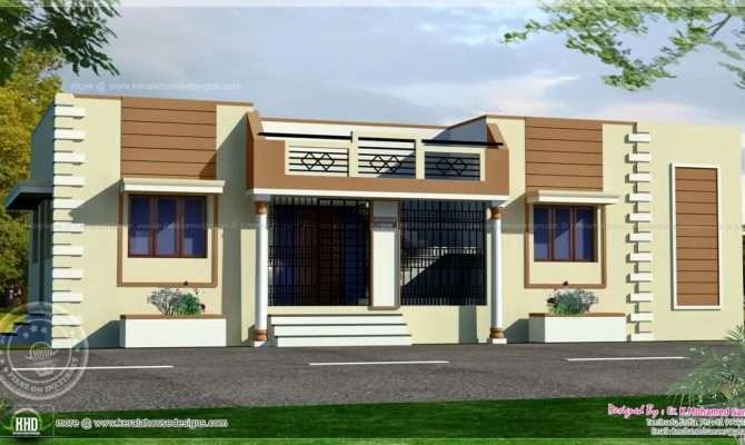 Tamilnadu Style Single Floor Home Kerala Design Plans