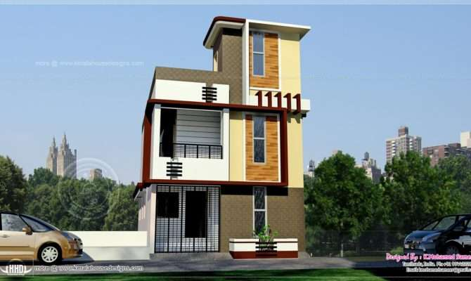 Tamilnadu Style Storey House Height Design Plans
